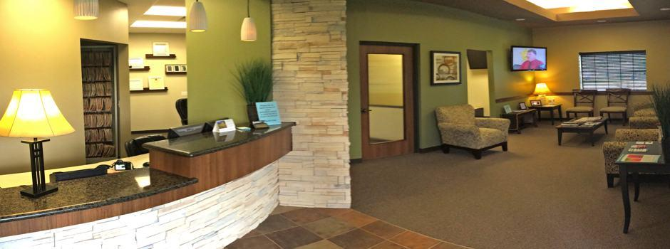 Reception area of Kyle D. McCrea DDS
